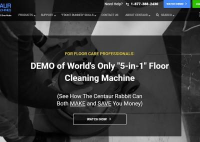 Centaur Floor Machines, Manufacturing