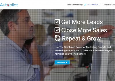 Funnel Autopilot, Marketing/Sales