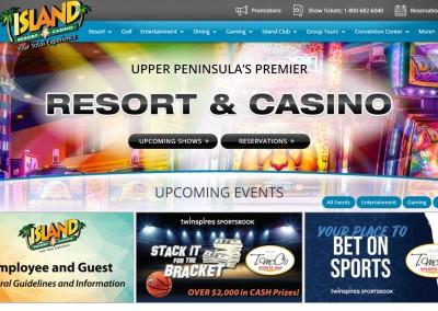 Island Resort & Casino, Entertainment, Resort