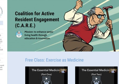 C.A.R.E., Advocacy for Active Aging